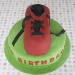 James' Football Cake