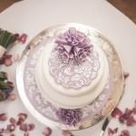 Katharine & Lewis' Wedding Cake