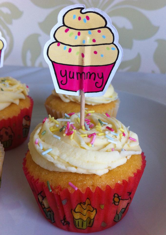 Victoria Sponge Blog - yummy cupcake