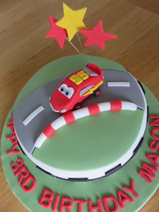 Mason's Cars cake