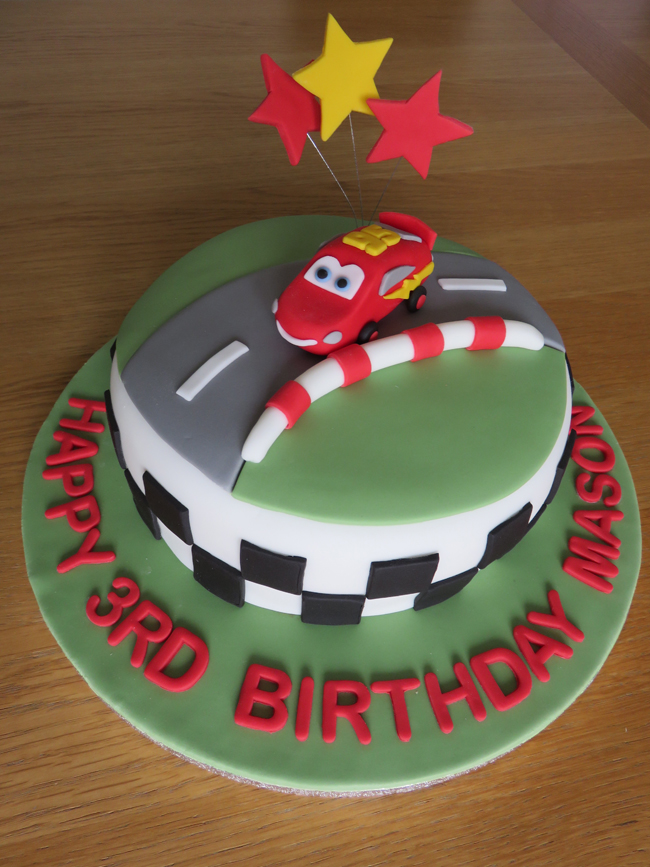 The Cars cake