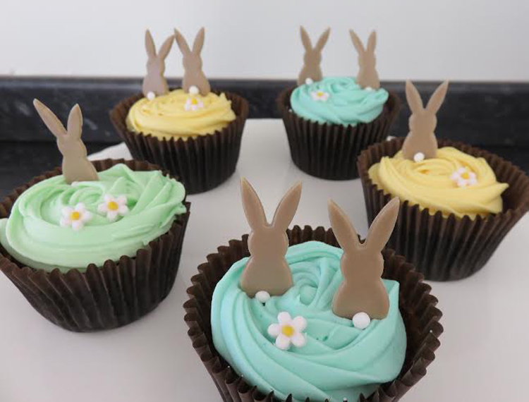 Easter bunny cupcakes - victoria-sponge BLOG