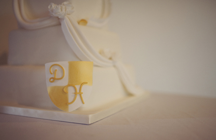 Hollie and Darren's Wedding Cake, photography by Rebecca Douglas